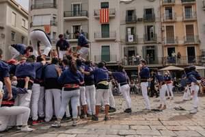 Les millors imatges de la Diada Castellera del Mercadal 2021.