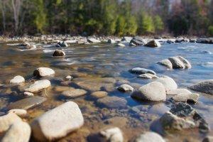Lecho de río