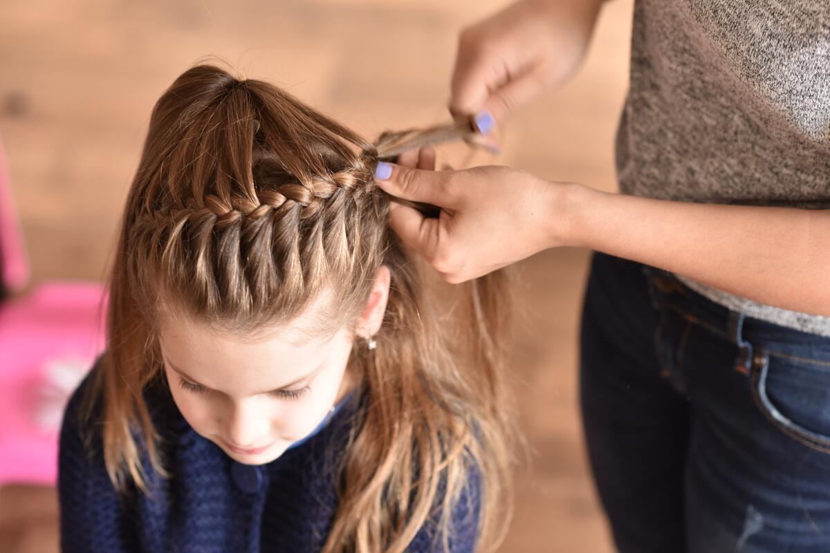 11 Peinados Para Niñas Fáciles Con Trenzas Para Cabello