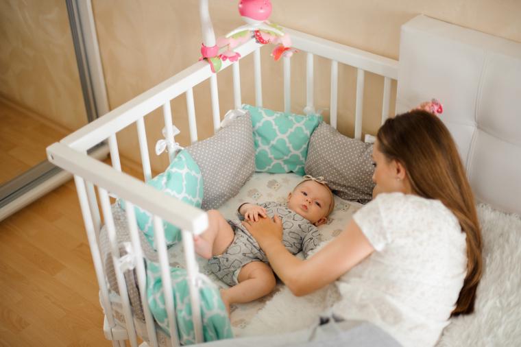 Cunas de colecho para bebés