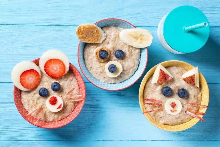 Desayunos para bebé: 5 ideas que le encantarán