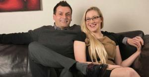 Sami Walton amb la seva parella.