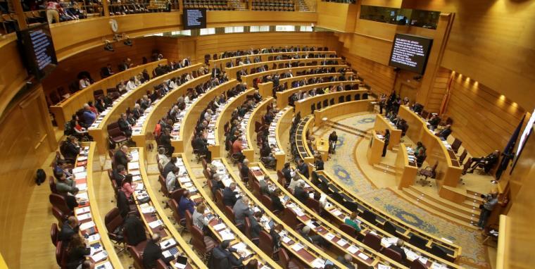 Imatge d'arxiu del ple del Senat, aquesta passada legislatura.