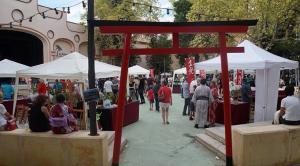 Imatge d'una edició passada de la Hikari, el festival d'estiu japonès a Reus.
