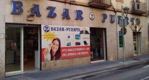 Imatge de l'exterior de Bazar Puerto a Tarragona.
