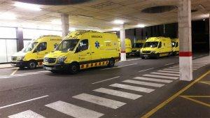 Imatge de la zona d'urgències de l'Hospital Sant Joan de Reus