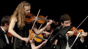 La violinista Nataliya Borysyuk serà una de les intèrprets que tocarà al festival.