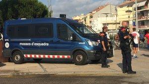Mossos d'Esquadra patrullant a Cambrils