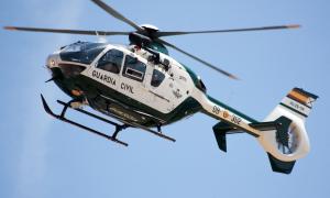 Imatge d'arxiu d'un helicòpter de la Guàrdia Civil.
