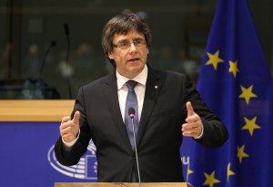 Carles Puigdemont, en una imatge d'arxiu a Brusel·les.