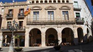 Façana de l'Ajuntament de Falset