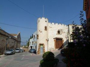 Una imatge de la vila de Bellvei.