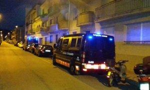 Desplegament dels Mossos d'Esquadra a Sant Pere de Ribes