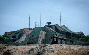 Punt de les bateries antiaèries de l'Exèrcit de Terra, en una imatge d'arxiu