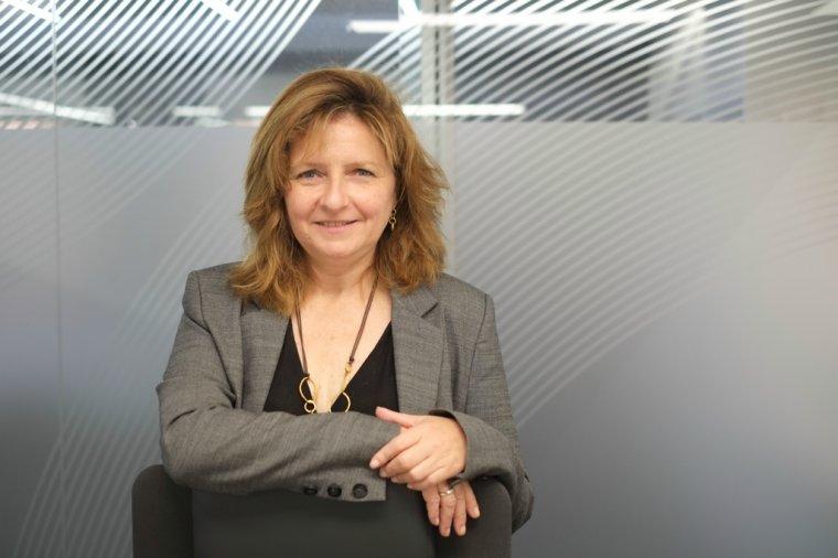 Teresa Pallarès, en una imatge d'arxiu a la seu de l'AEQT.