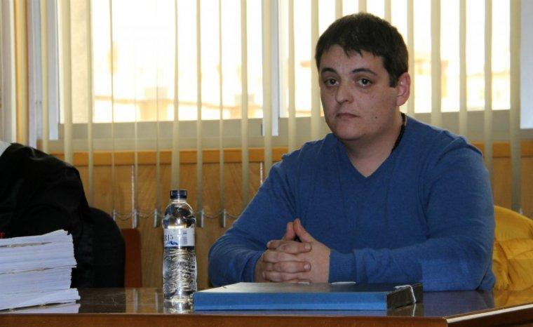 Jaume Solsona, durant el judici contra ell per haver matat Sara Lozano.