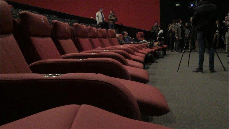 Les butaques completament reclinables són un dels atractius de la sala 17 d'Ocine Les Gavarres