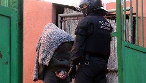 Jacob Orellana, el dia de la seva detenció.