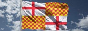 La bandera de Tabarnia.