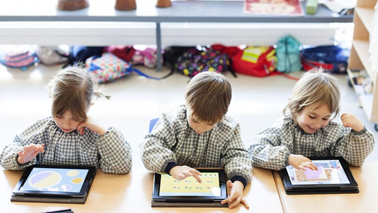 A l'EIC els alumnes aprenen a utilitzar les noves tecnologies de forma responsable.