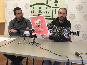 Eloi Calbet, segon tinent d'alcalde d'El Morell i Jordi Aíza, tècnic de cultura municipal