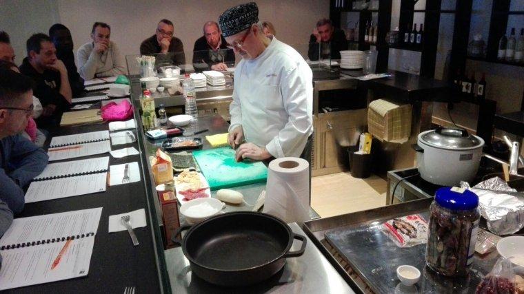 Imatge d'un curs de cuina de la FEHT.