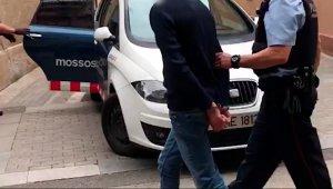 Imatge d'arxiu d'una detenció dels Mossos d'Esquadra.