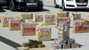 Dos dels tres cotxes del narco-comboi han pogut ser interceptats pels Mossos.
