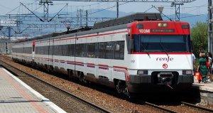 Imatge d'un tren de Rodalies.