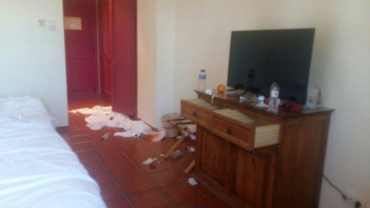Els atletes dels Jocs Mediterranis deixaven les habitacions molt brutes.