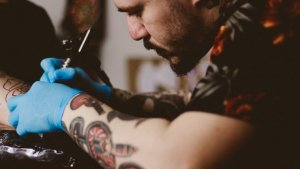 Tattoo aftercare is very important and it teaches us about tattooed skin and how we should protect our new body art.
