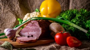 Meat, legumes, and vegetables are all iron-rich foods