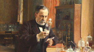 Louis Pasteur is one of the best doctors in the world.