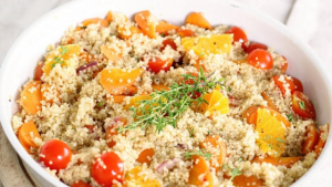 Quinoa is considered a superfood because of its many benefits.