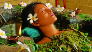 The Ayurvedic diet and massages play an important role in maintaining welness.