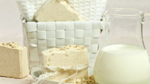 Dairy products are derived from milk.