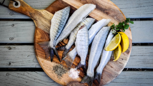 Fish and seafood are two foods rich in vitamin D.