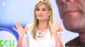 Alba Carrillo en el programa de Telecinco 'Ya es mediodía fresh'.