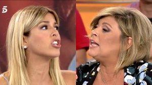 Discusión entre Oriana Marzoli y Terelu Campos en 'Sálvame'