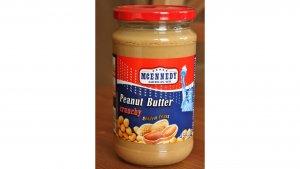 Mantequilla de cacahuete de McEnnedy de Lidl