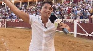 Omar, en medio de los abucheos que recibió en la plaza de toros de Cuenca
