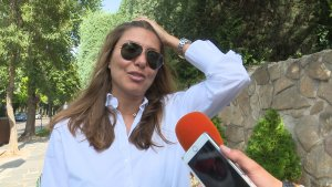 Silvia Casas habló el fin de semana sobre la salud de su esposo, Manu Tenorio.