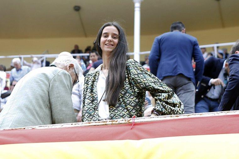 Victoria Federica también asiste con frecuencia a las plazas de toros.