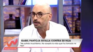 Diego Arrabal en 'Viva la Vida', tras escuchar que Toñi Moreno lo señala por un comentario machista.