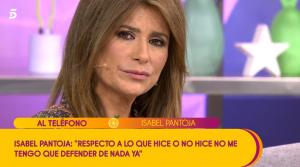 Gema López escucha a Isabel Pantoja hablar de su hija y se enfada.
