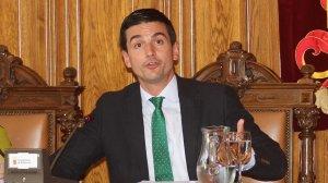 Imagen de David Vázquez Garrido, primer teniente de alcalde del Ayuntamiento de Palencia