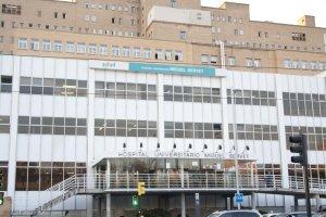 Imagen de la fachada del Hospital Universitario Miguel Servet de Zaragoza