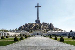 Imagen del exterior del Valle de los Caídos