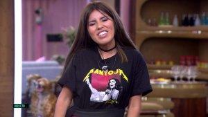 Isa Pantoja aparece en 'GH VIP' con una camiseta dedicada a su madre