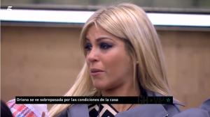 Oriana Marzoli rompe en llanto en 'Gran Hermano VIP 6' y amenaza con irse de la casa estudio.
